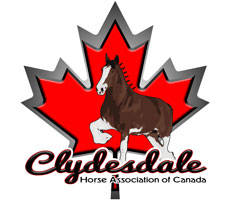 Clydesdale Horse Association of Canada logo